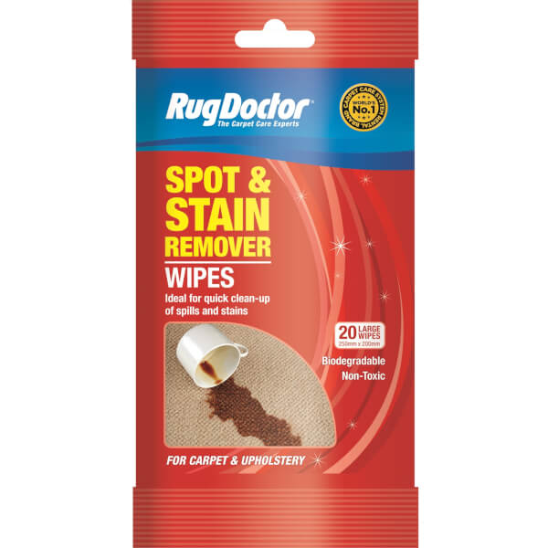 Rug Doctor Spot & Stain Remover Wipes