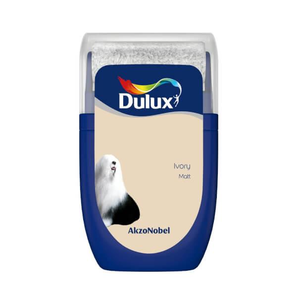 Dulux Standard Ivory Tester Paint - 30ml
