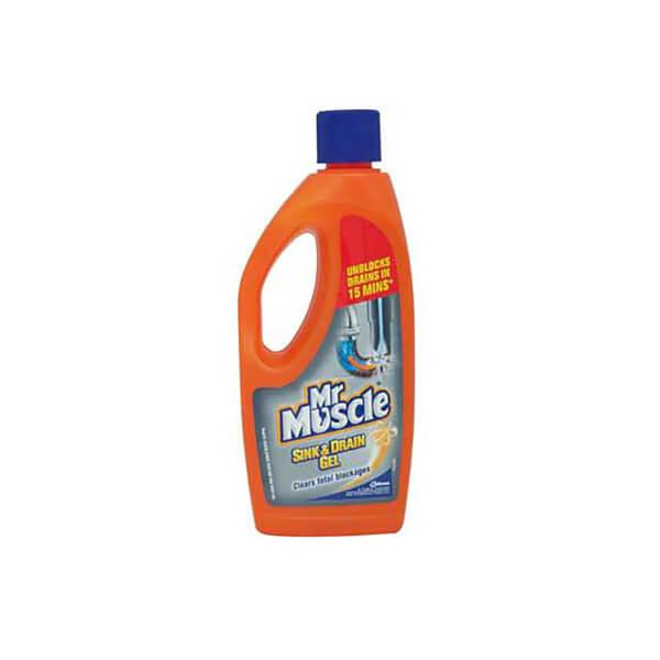 Mr Muscle Sink and Drain Gel - 500ml