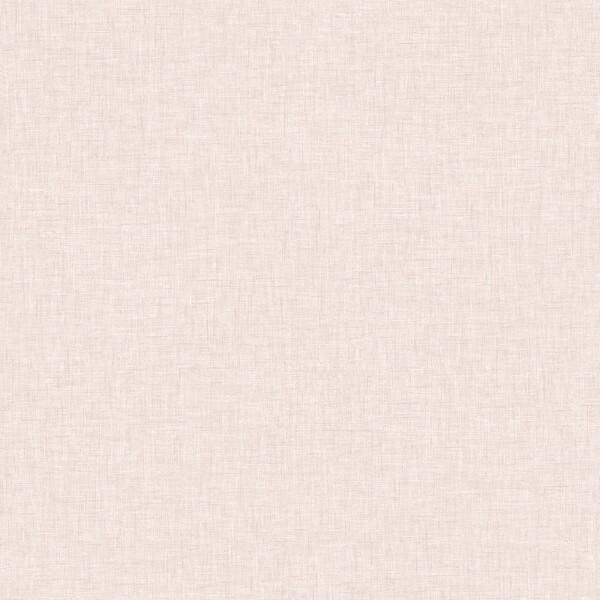 Arthouse Linen Texture Plain Textured Blush Wallpaper