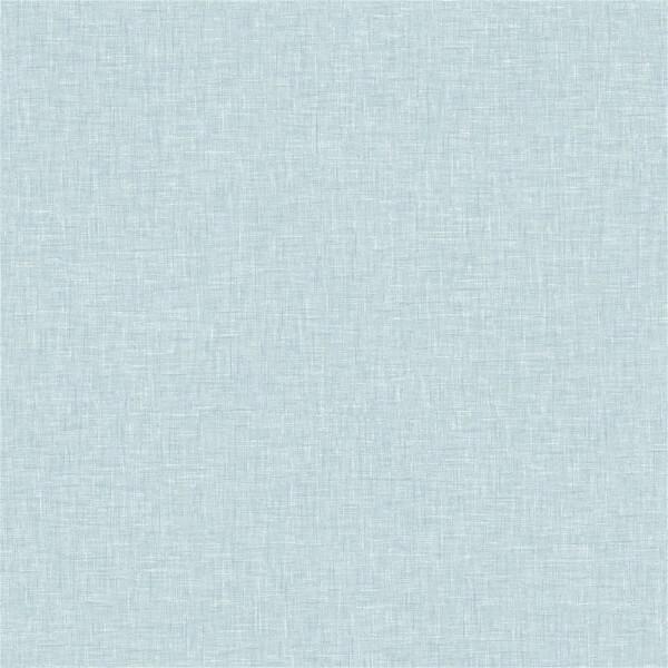 Arthouse Linen Texture Plain Textured Vintage Blue Wallpaper