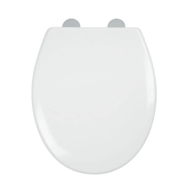 Croydex Constance Thermoset Toilet Seat - White