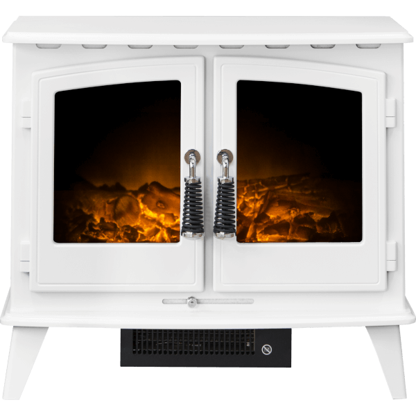 Adam Woodhouse Electric Stove in White
