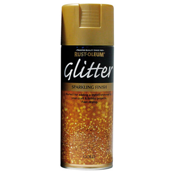 Rust-Oleum Gold - Glitter Spray Paint - 400ml