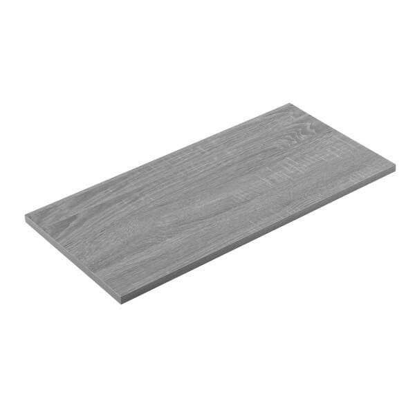 Timber Shelf - Grey Oak - 600x300x16mm