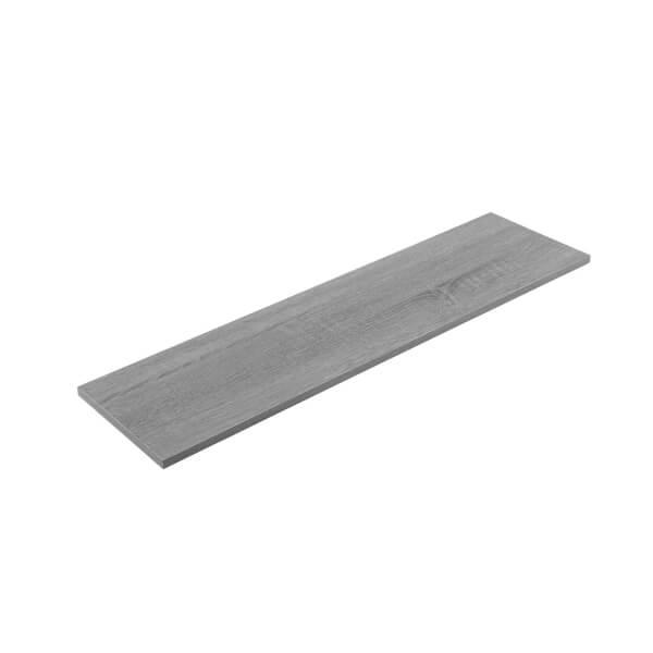 Timber Shelf - Grey Oak - 900x200x16mm