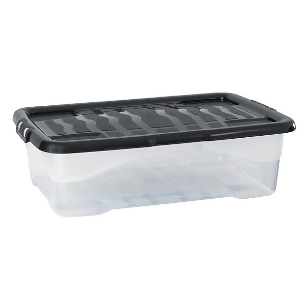 Strata Curve Underbed Box with Lid - 42L