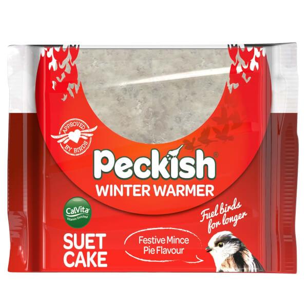 Peckish Winter Warmer Suet Cake - 300g