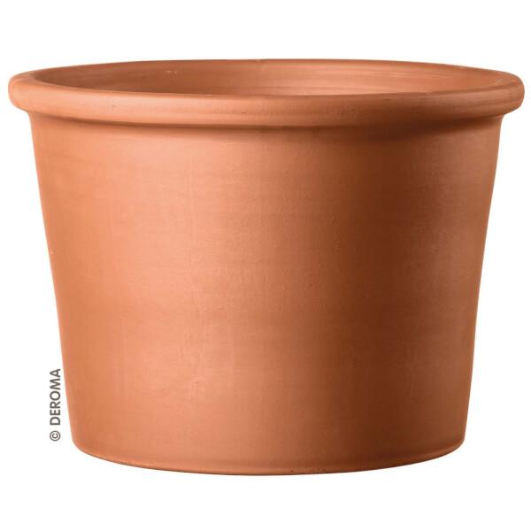 Deroma Terracotta Border Cylinder Plant Pot - 28cm