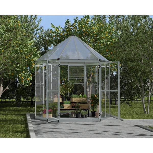 Palram Oasis Hexagonal 8ft Greenhouse