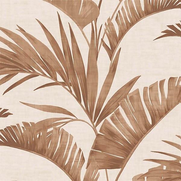 Arthouse Banana Palm Tree Smooth Coffee Wallpaper