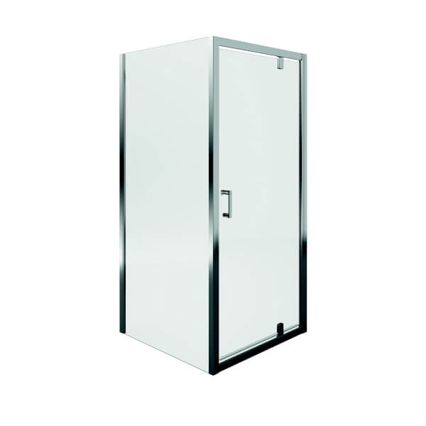 Aqualux Pivot Door Shower Enclosure - 800 x 800mm