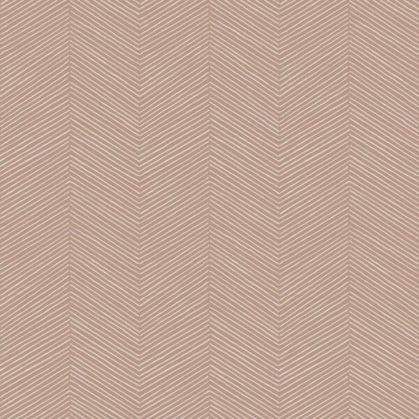 Arthouse Arrow Weave Geometric Embossed Natural Wallpaper