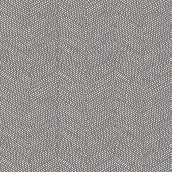 Arthouse Arrow Weave Geometric Embossed Charcoal Wallpaper