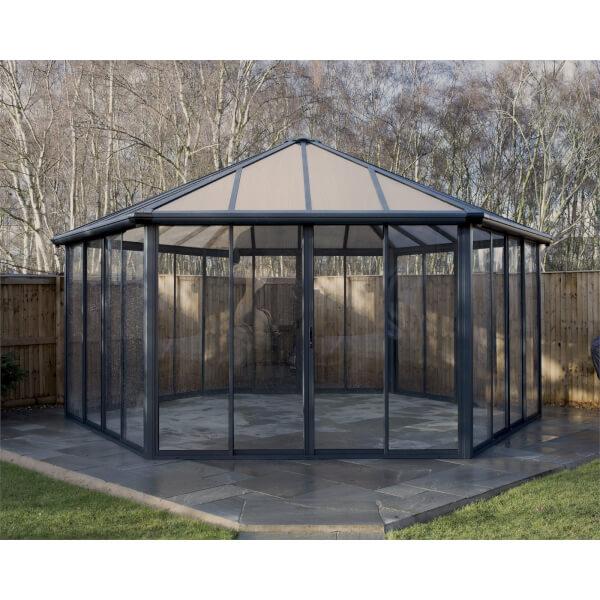 Palram Garda Enclosed Garden Gazebo