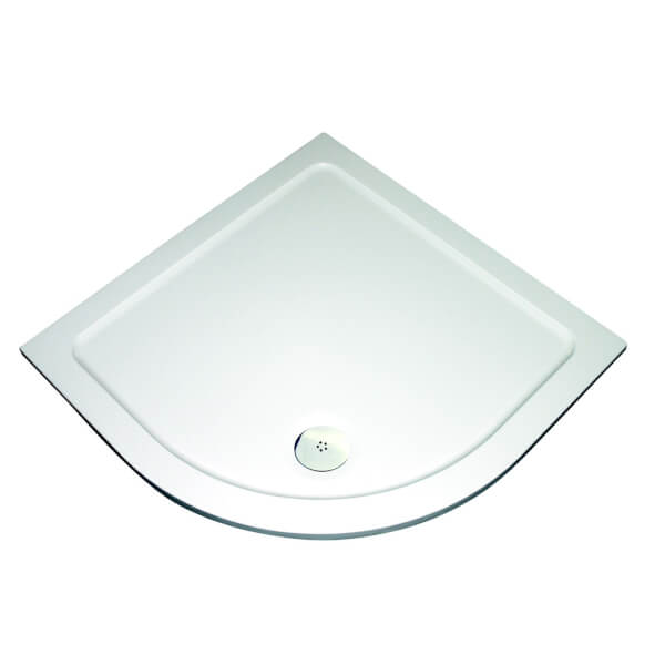 Aqualux Quadrant Shower Tray - 800 x 800 x 35mm