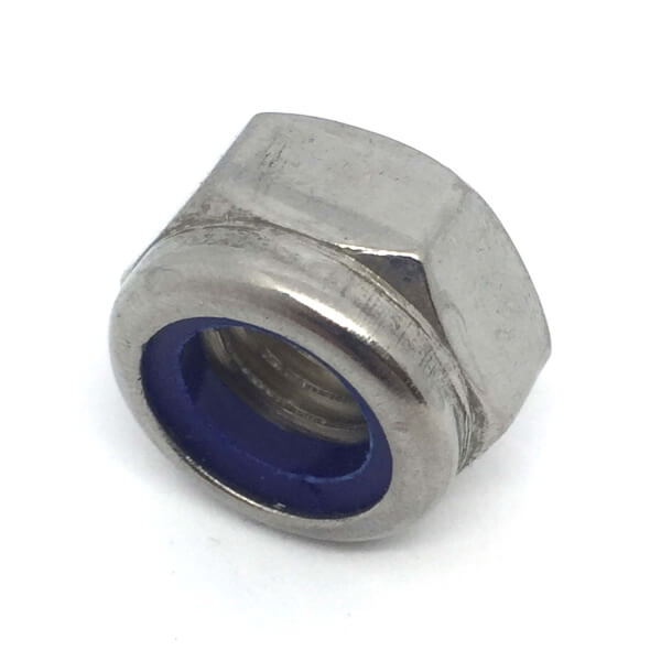 Griptite Locking Nut SS M12 - 5 Pack