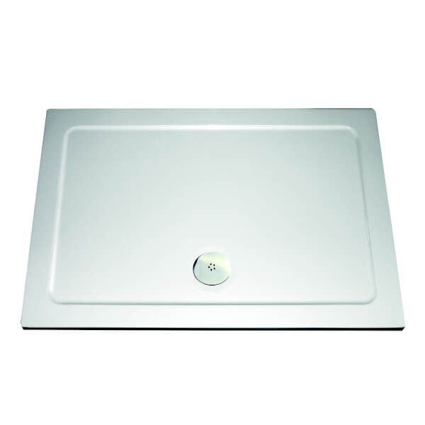 Aqualux Rectangular Shower Tray - 1400 x 800 x 35mm