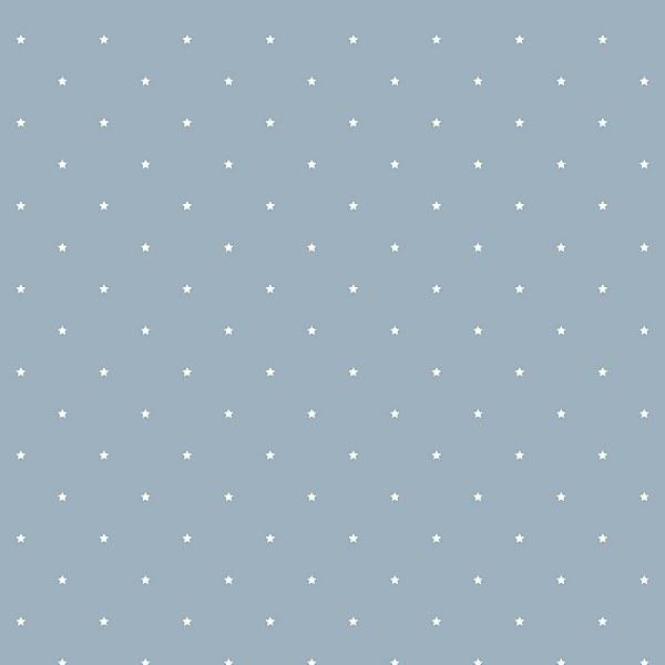 Grandeco Stars Denim Blue Paste the Wall Wallpaper