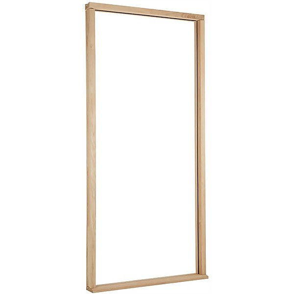 Door Frame and Cill External Unfinished Oak Type With Weather Seal - To Suit up to Door Size 962 x 2113mm
