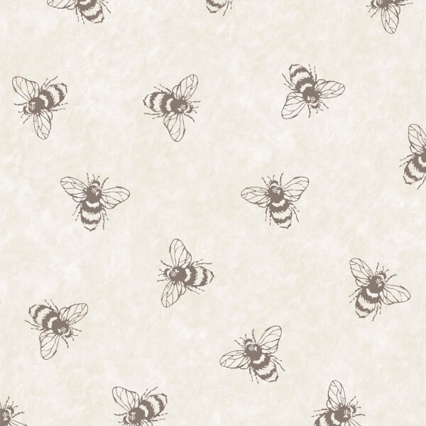 Boutique Let It Bee Natural Wallpaper