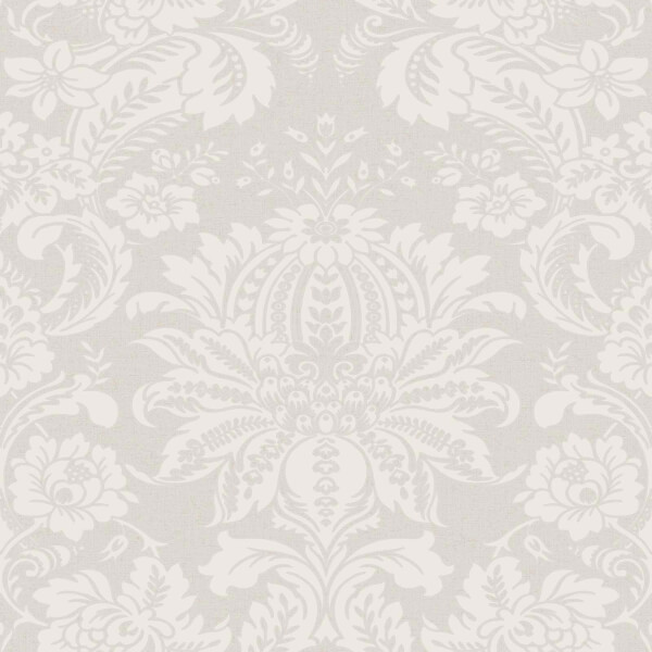 Superfresco Easy Floral Damask Taupe Wallpaper
