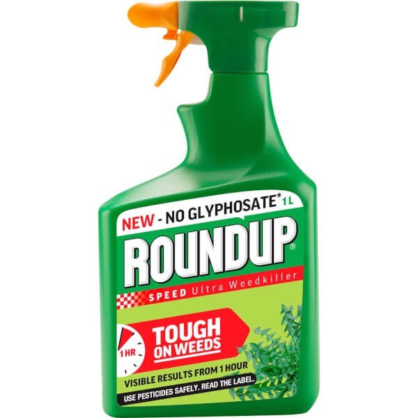 Roundup Speed Ultra Ready To Use Weedkiller - 1L