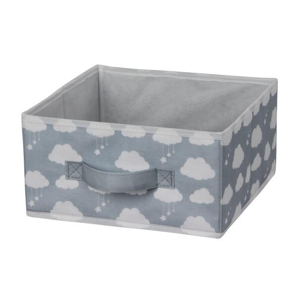 Kids Fabric Insert - Cool Grey Clouds