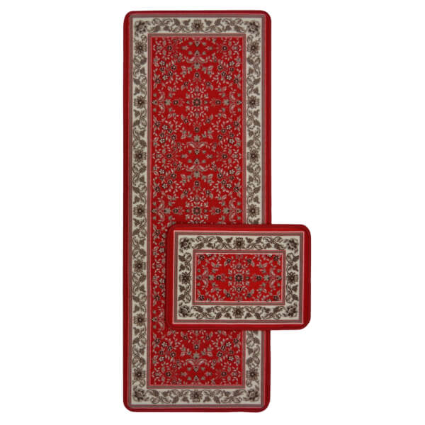 Traditional Runner Pack Red Rug - 57 x 150cm