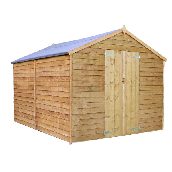 Mercia 12 x 8ft Overlap Apex Windowless Shed