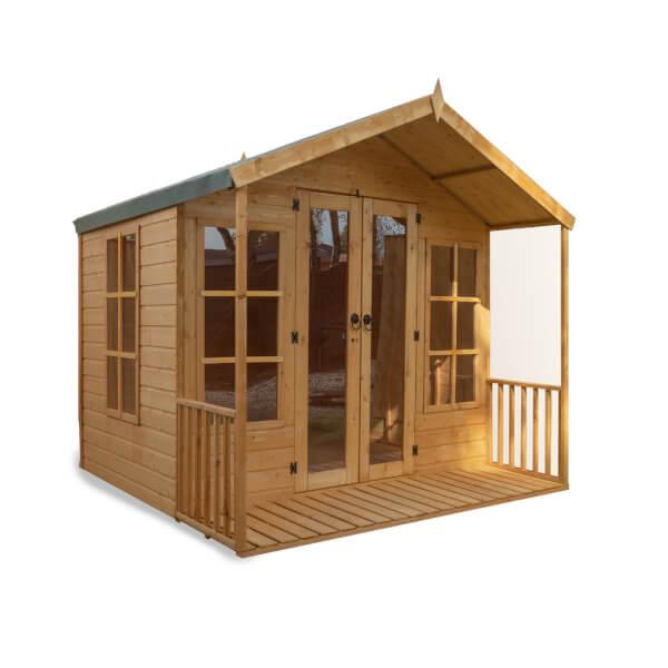 Mercia 8x8ft Traditional Summerhouse