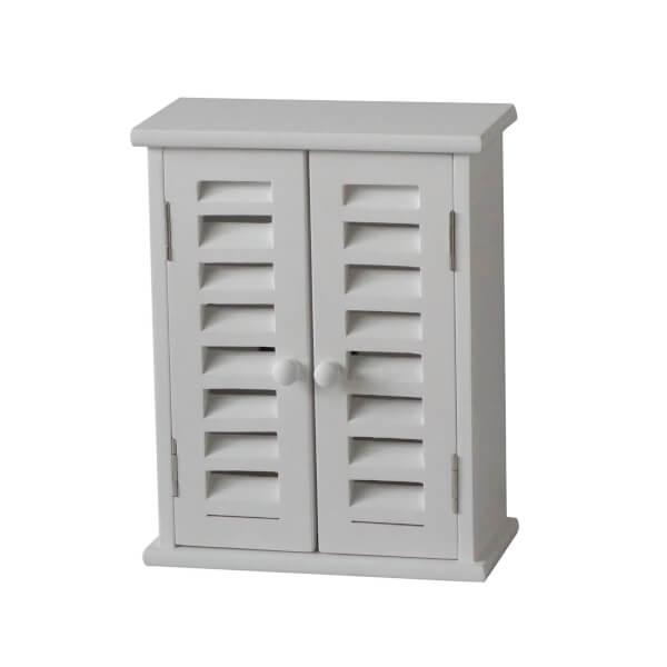White Paulownia Key Storage Unit