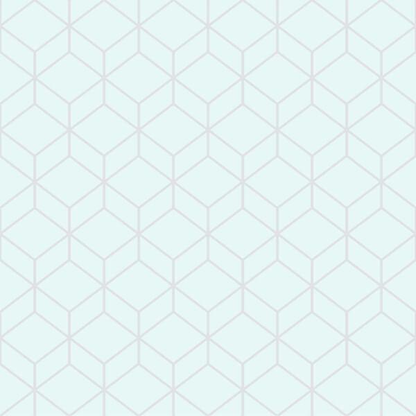 Superfresco Easy Myrtle Geo Duck Egg Wallpaper