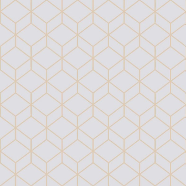 Superfresco Easy Myrtle Geo Grey Wallpaper