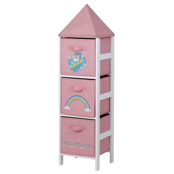 Kids Storage Tower  - Unicorn