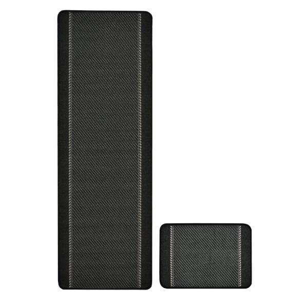 Kalim Black Rug - 57 x 230cm