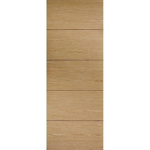 Lille Internal Prefinished Oak Door - 762 x 1981mm