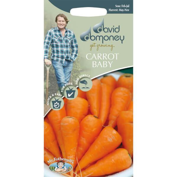 David Domoney Carrot Baby Seeds