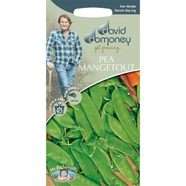 David Domoney Pea Mangetout Seeds