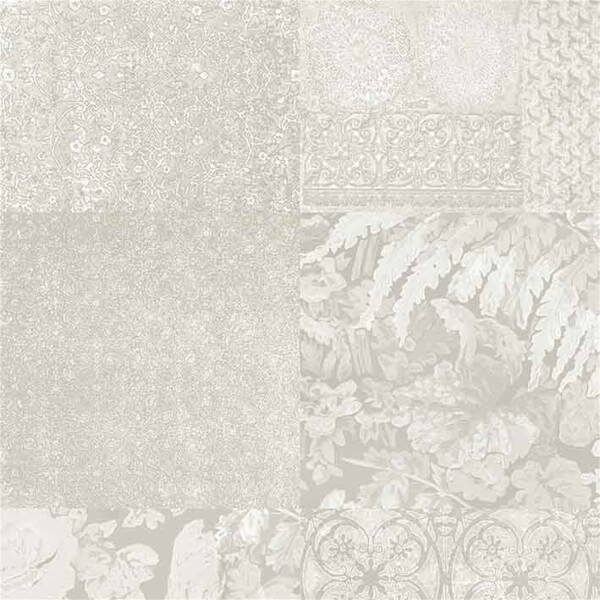 Belgravia Decor Coca Cola Embossed Metallic Ivory Wallpaper
