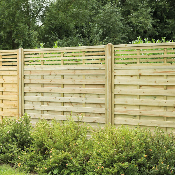 Forest Kyoto Fence Panel - 5ft - Pack of 3
