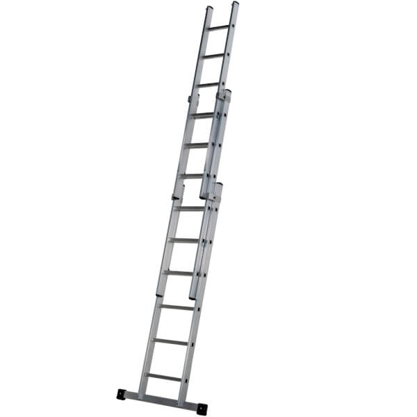 Werner Square Rung Extension Ladder - 1.92m Triple