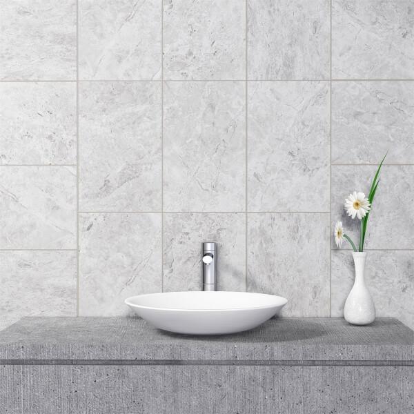 Venice Light Grey Wall Tile - 400 x 250mm