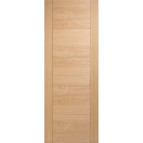 Vancouver Internal Prefinished Oak 5 Panel Fire Door - 762 x 1981mm
