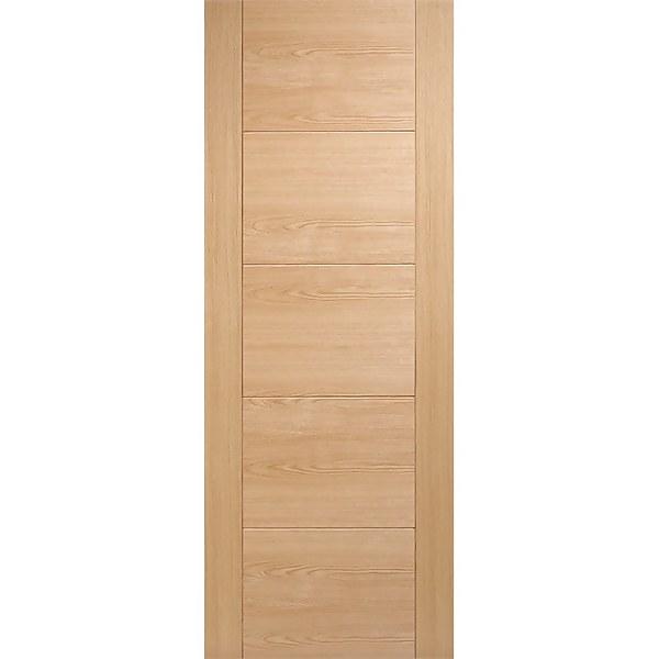 Vancouver Internal Prefinished Oak 5 Panel Fire Door - 813 x 2032mm