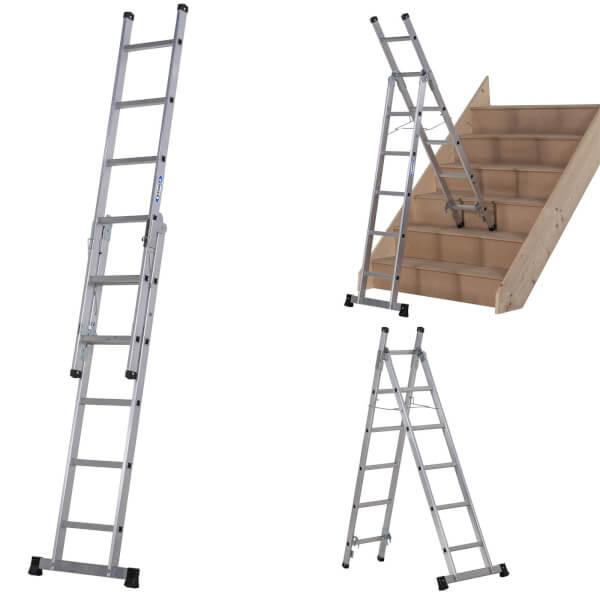 Werner Combination Ladder - 3 in 1