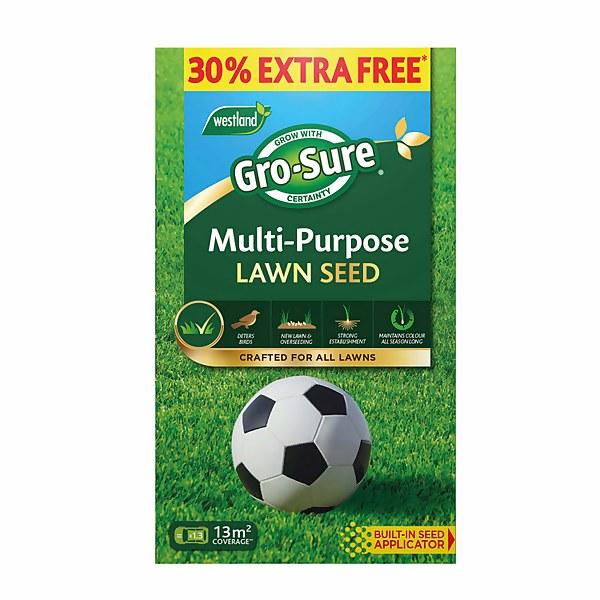 Gro-Sure Multi Purpose Lawn Seed - 13m2