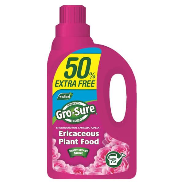 Gro-Sure Ericaceous Concentrated Plant Food Liquid, 1.5 L