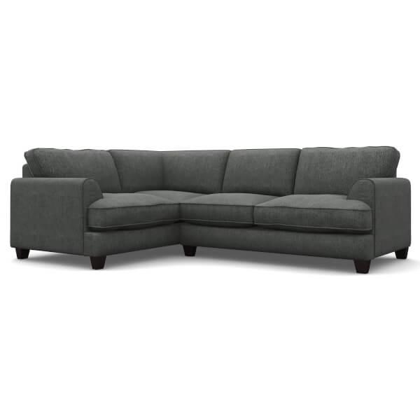 Greenwich Lefthand Corner Sofa - Granite