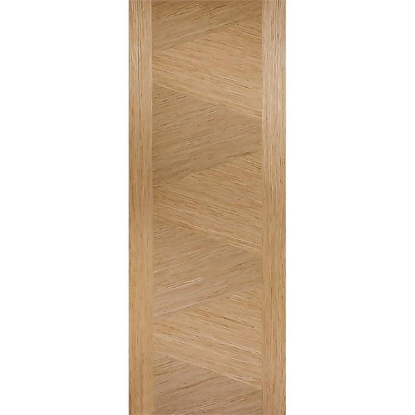 Zeus Internal Prefinished Oak Fire Door - 838 x 1981mm